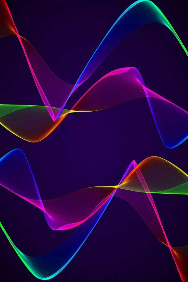 Android Wall Pulse Blue Patten Android wallpaper