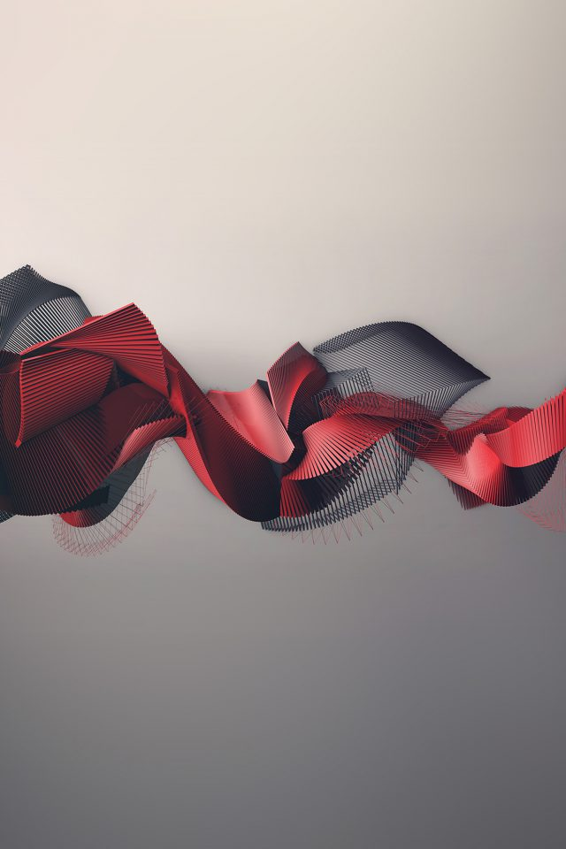 Art Pattern Abstract Art Red Illust Android wallpaper