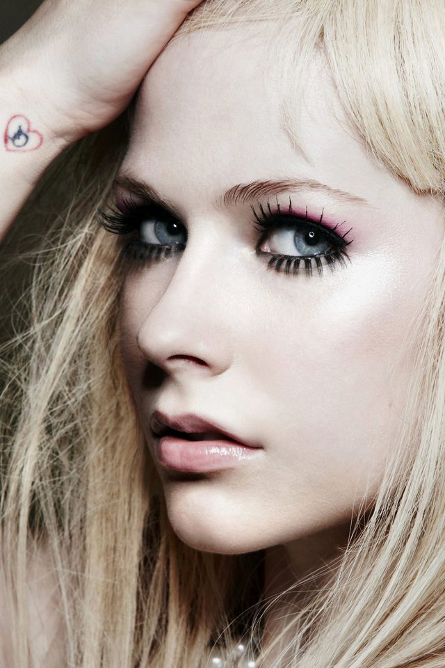 Avril Lavigne Singer Songwriter Android wallpaper