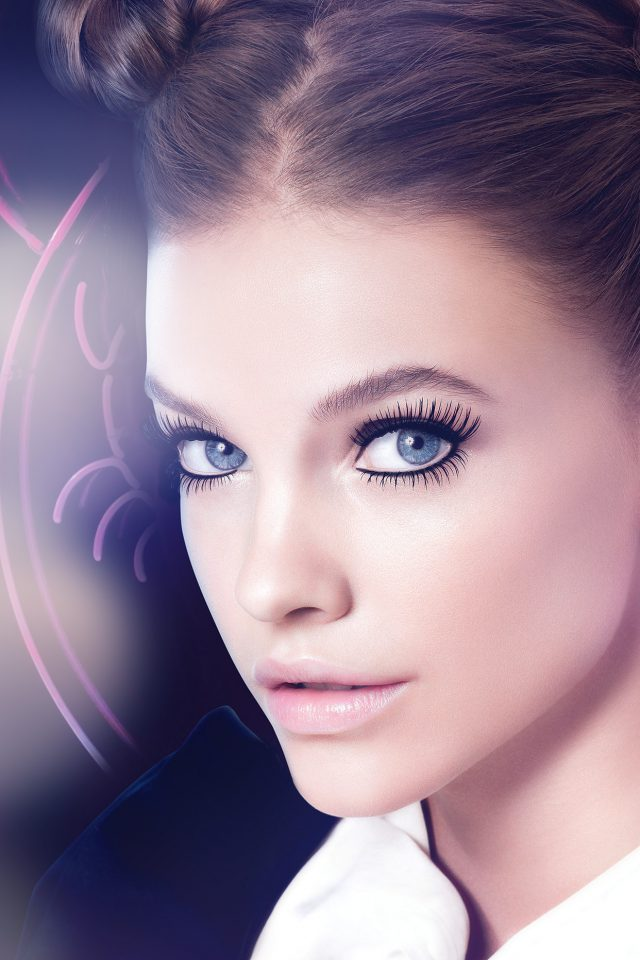Barbara Palvin Blue Flare Cute Sexy Model Android wallpaper