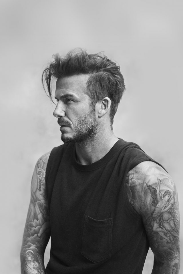 Beckham Handsome Bw Sports Good Lookin Android wallpaper