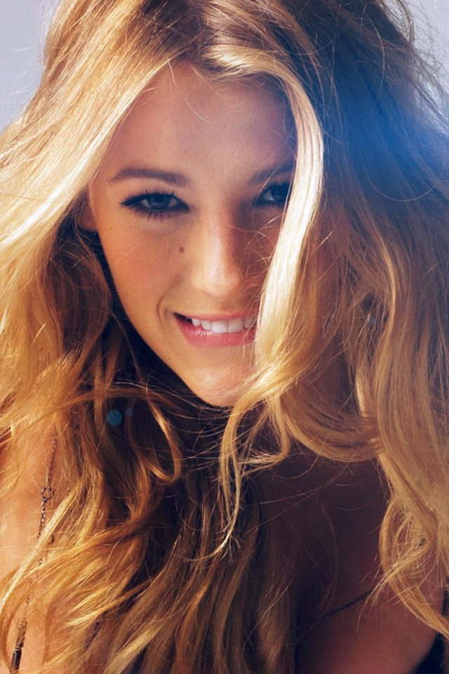Blake Lively Sexy Photoshoot Model Android wallpaper