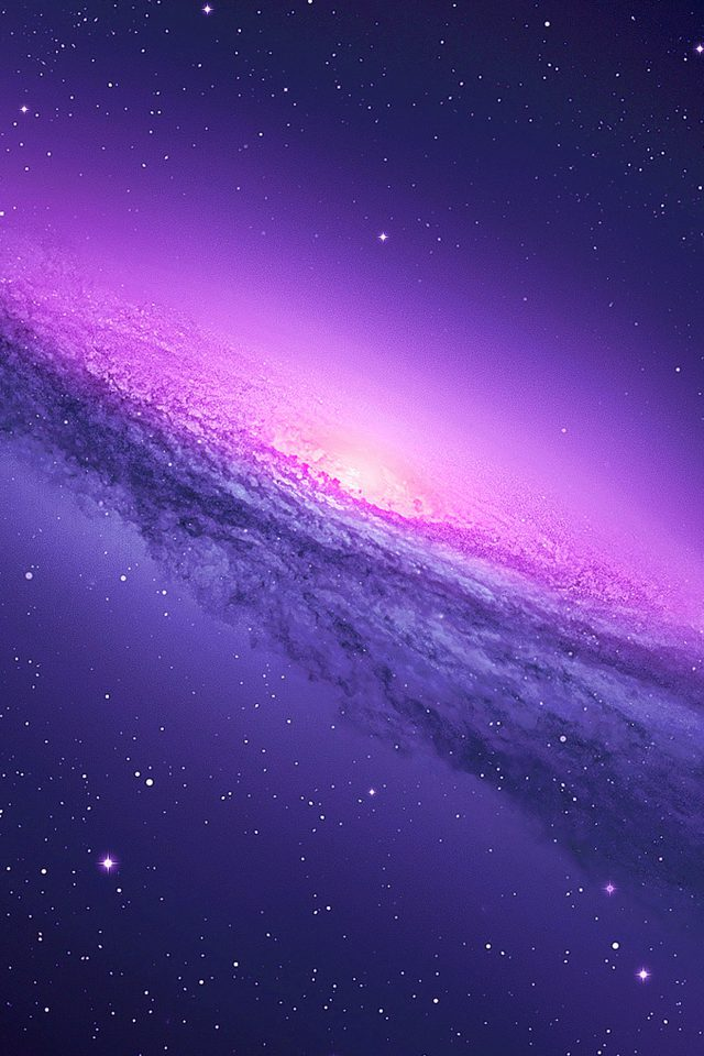 Blue Galaxy Y Space Nature Android wallpaper