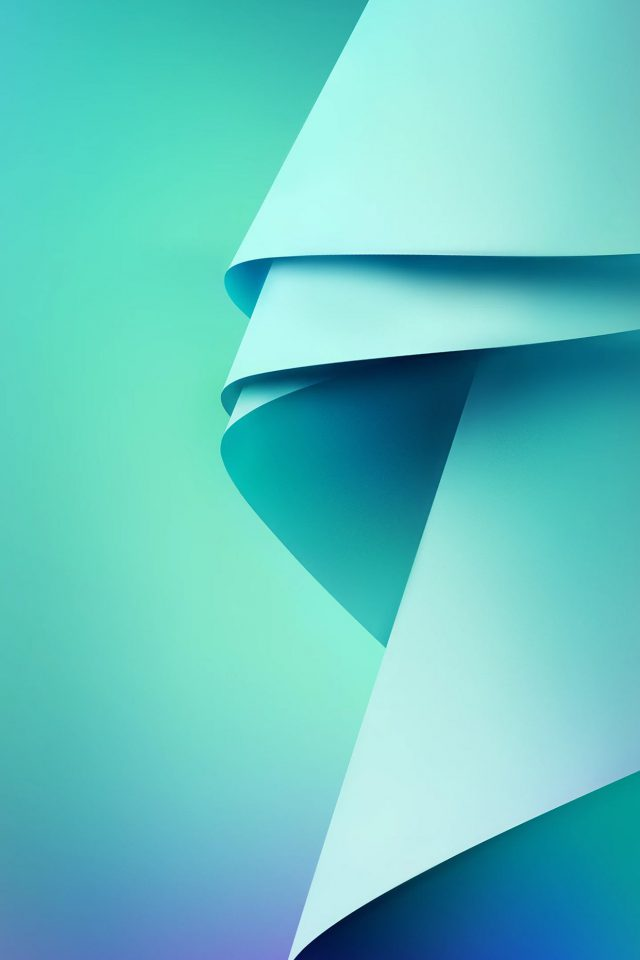 Blue Green Abstract Pattern Android wallpaper