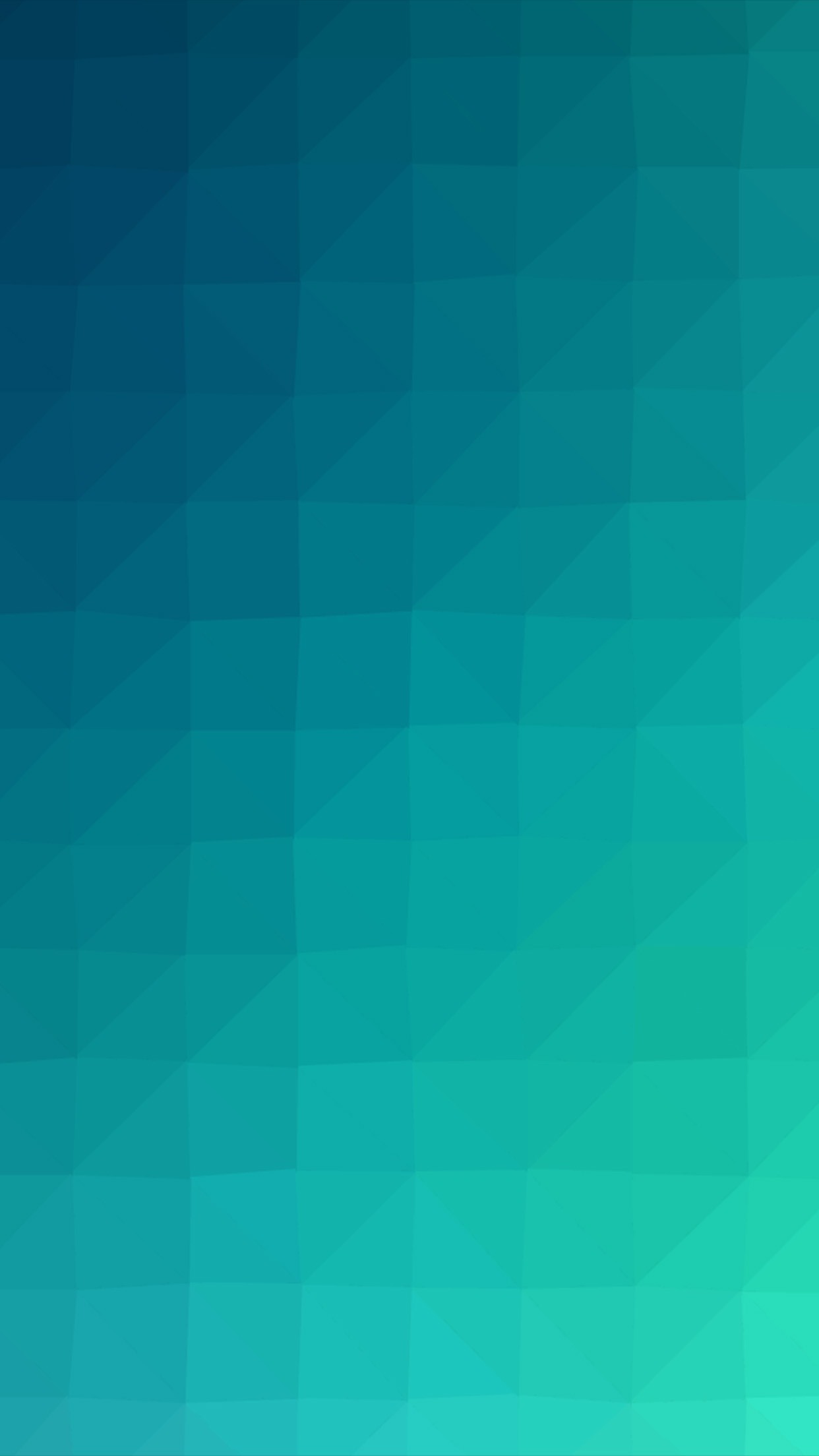 Blue Green Polygon Art Abstract Pattern Android Wallpaper