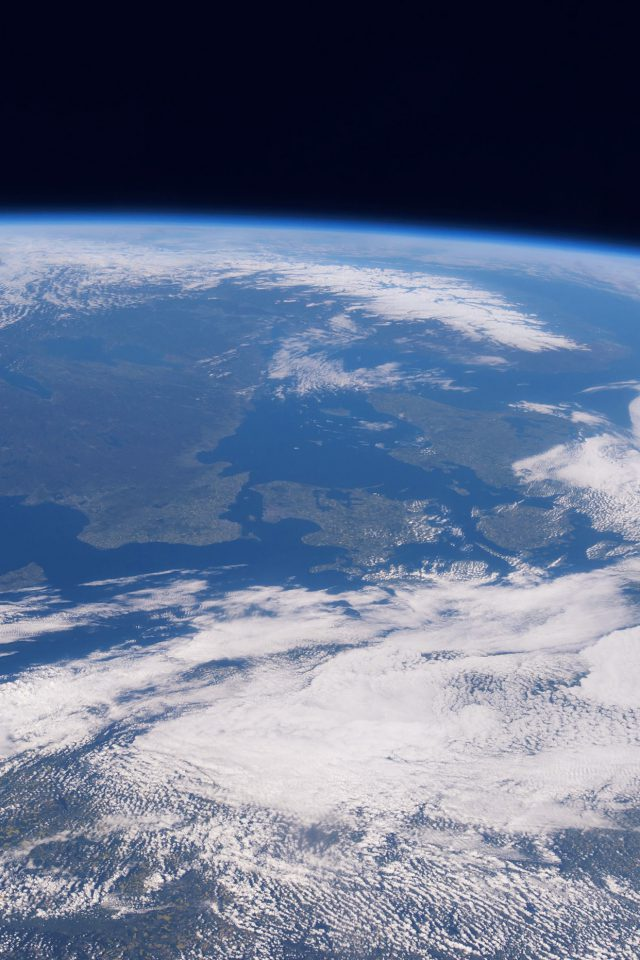 Blue Planet Earth From Space Nature Android wallpaper