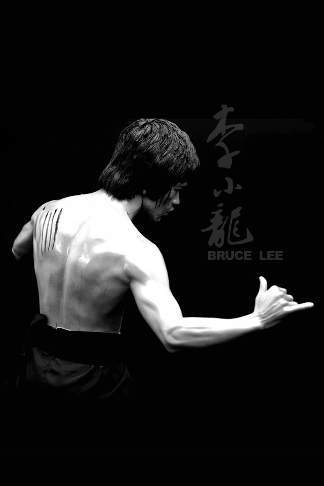 Bruce Lee Sports Actor Celebrity Dark Android wallpaper