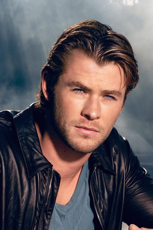 Chris Hemsworth Handsome Boy Actor Android wallpaper