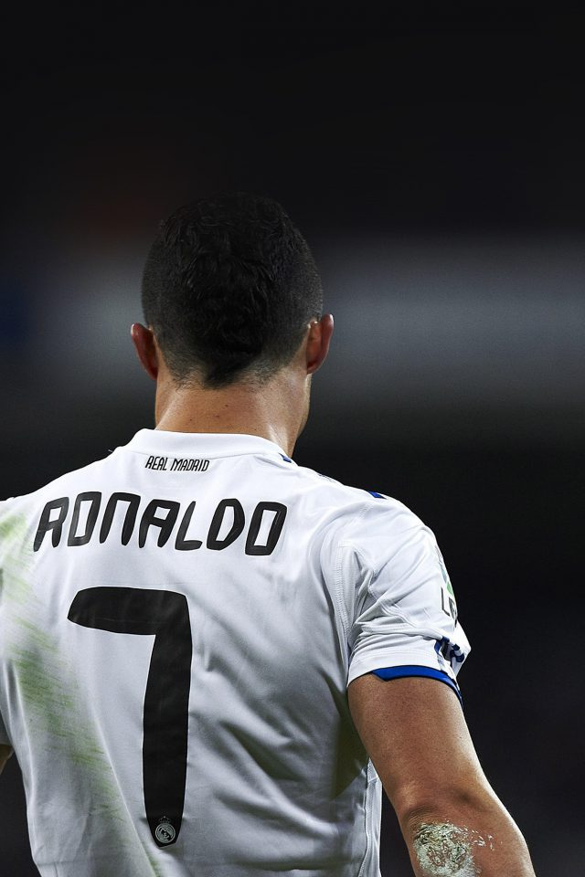 Cristiano Ronaldo 7 Real Madrid Soccer Android wallpaper