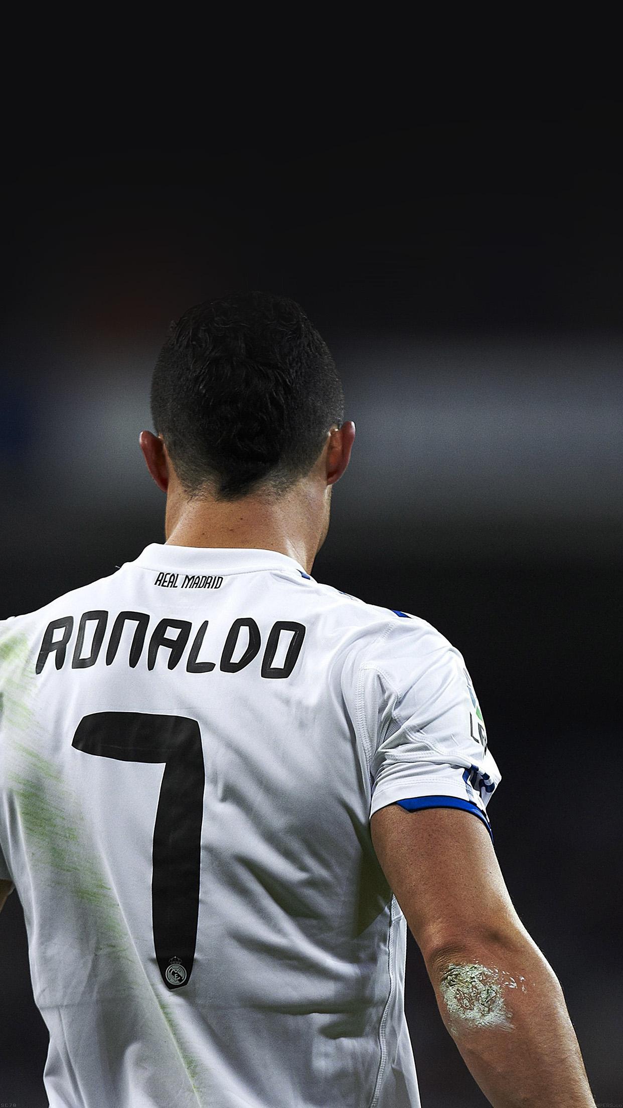 Cristiano Ronaldo 7 Real Madrid Soccer Android Wallpaper