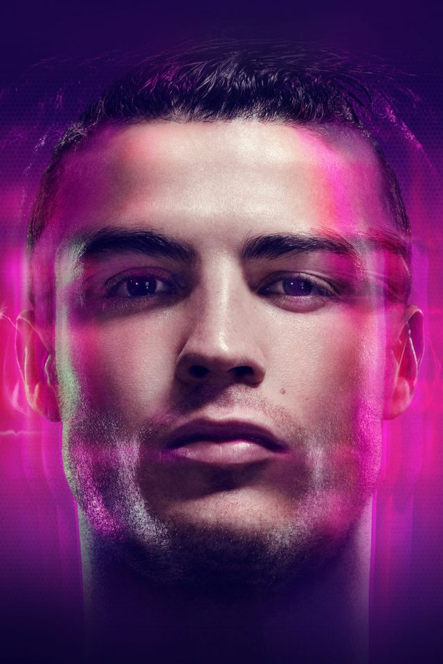Cristiano Ronaldo Amazing Face Soccer Android wallpaper