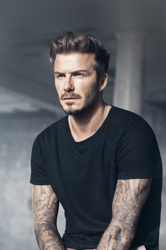 Daivd Beckham Sexy Sports Model Android wallpaper