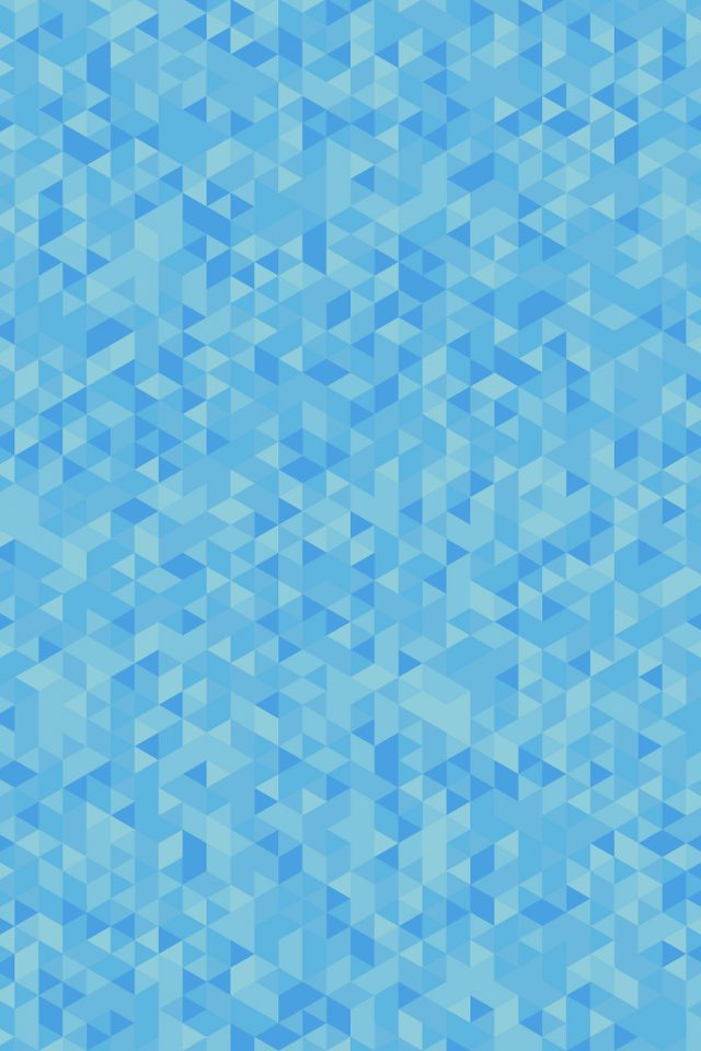 Diamonds Abstract Art Blue Pattern Android wallpaper