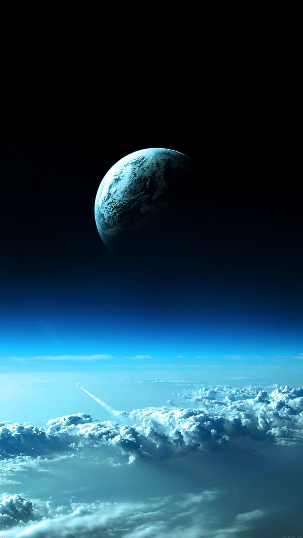 Earth View From Earth Space Android Wallpaper Android Hd Wallpapers