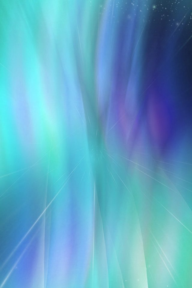 Fantasy Green Blue Abstract Pattern Android wallpaper