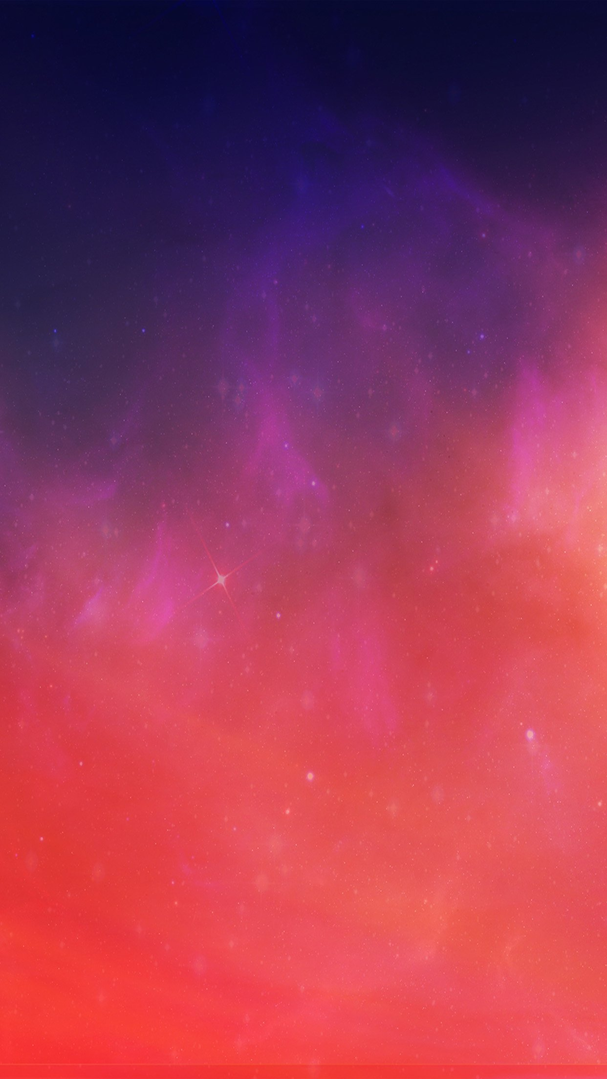 Fire Space Abstract Red Pattern Art Android Wallpaper