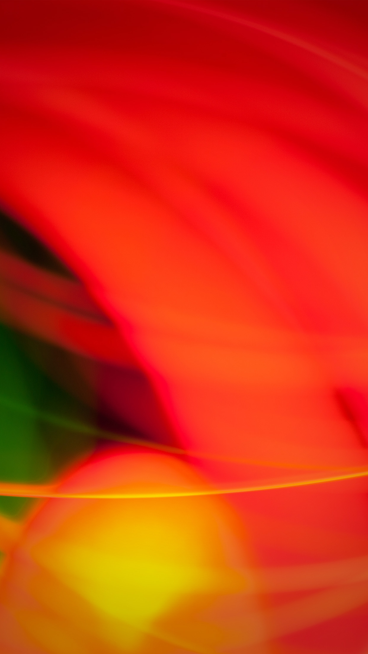 Flare Fire Red Abstract Pattern Hot Android wallpaper