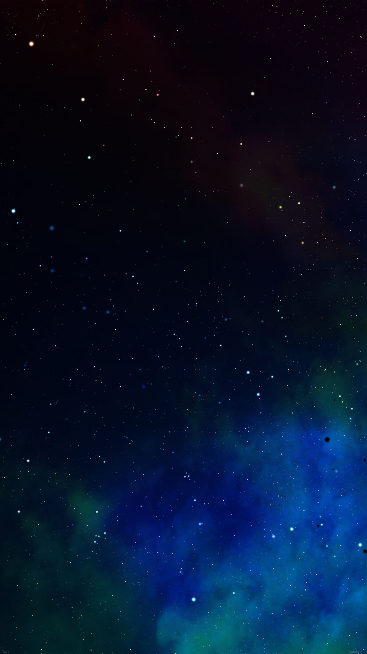 Frontier Iphone Space Colorful Star Nebula Android wallpaper