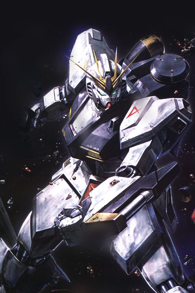 Gundam Rx Illust Toy Space Art Android wallpaper