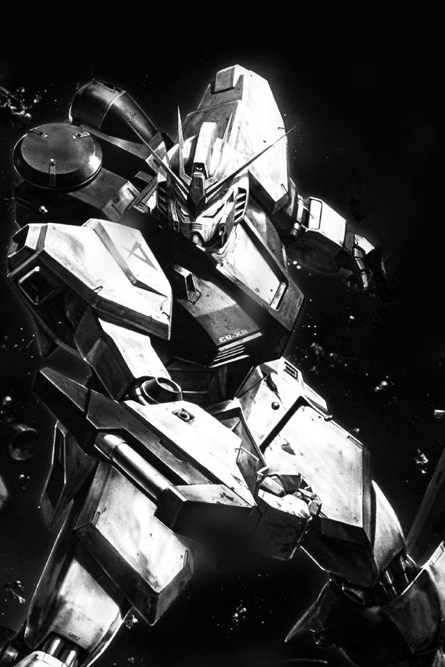 Gundam Rx Illust Toy Space Art Dark Android wallpaper