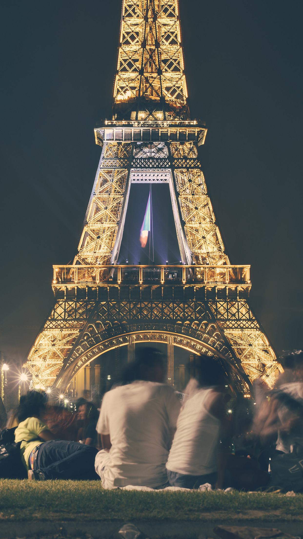 Happy Paris Eiffel Tower France Tour Night City Android Wallpaper Android Hd Wallpapers