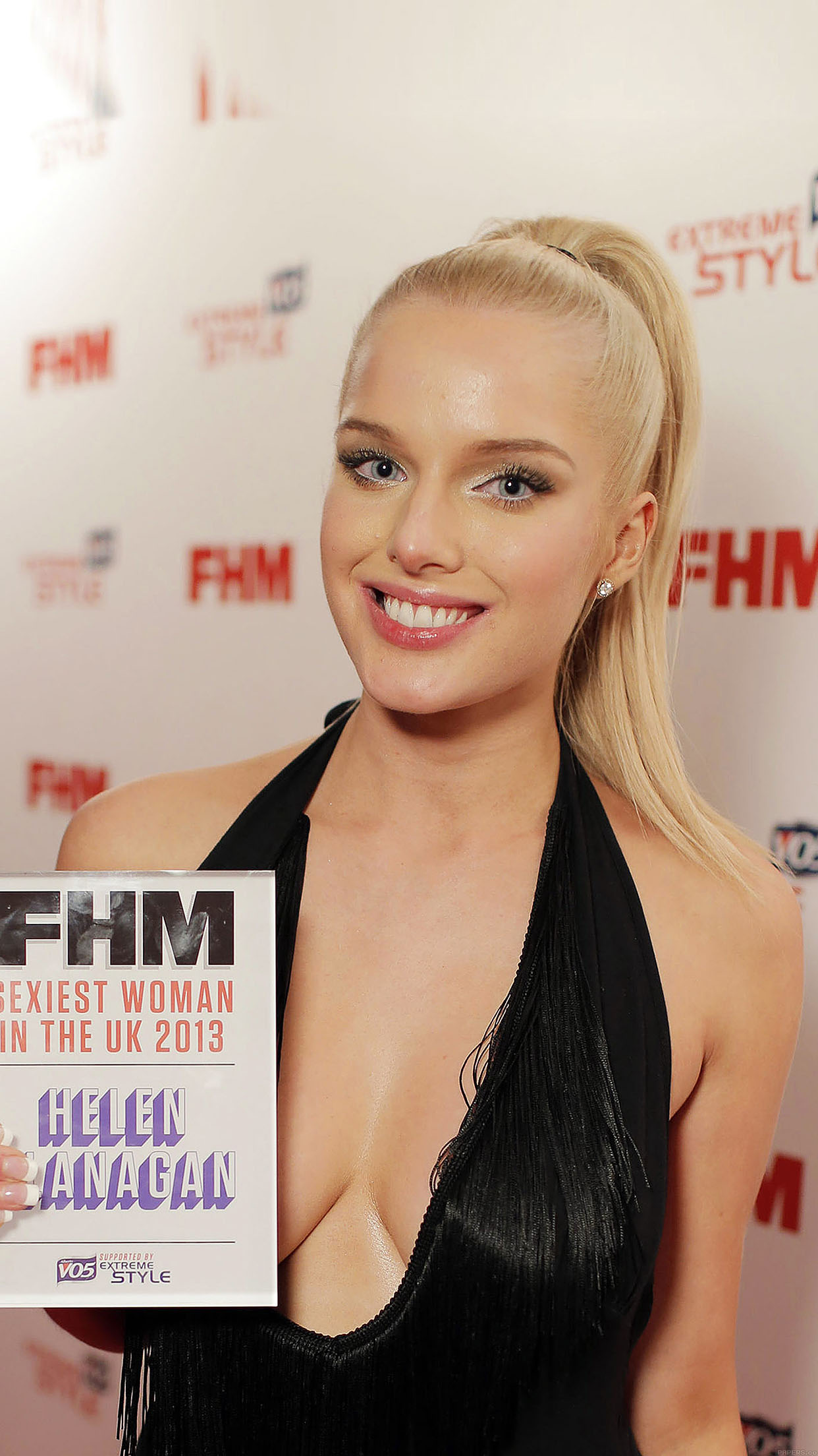 Helen Flanagan Girl Face Android wallpaper
