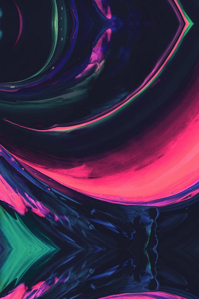 Htc Abstract Art Paint Pattern Pink Android wallpaper