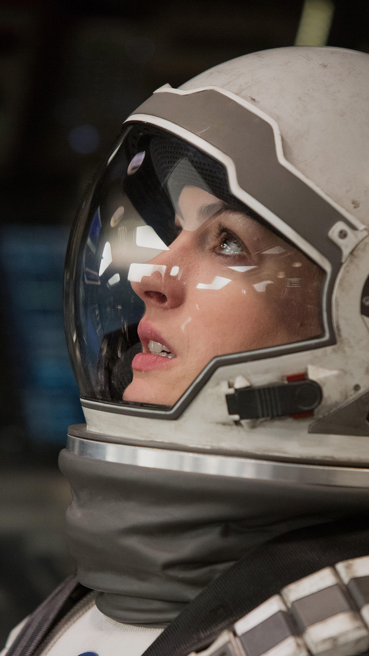 Interstellar Brand Anne Hathaway Celebrity Android wallpaper