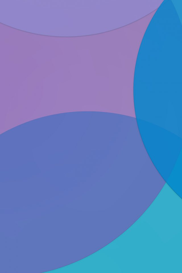 Ios 9 Blue Bubble Shape Abstract Pattern Android wallpaper
