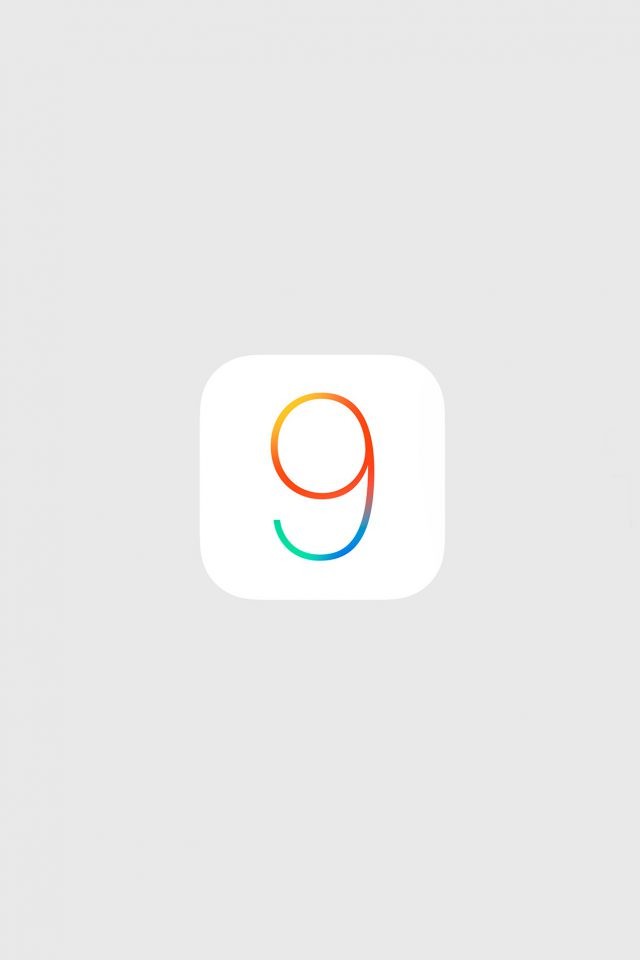 Ios9 Logo Apple New Minimal Gray Simple Art Android wallpaper