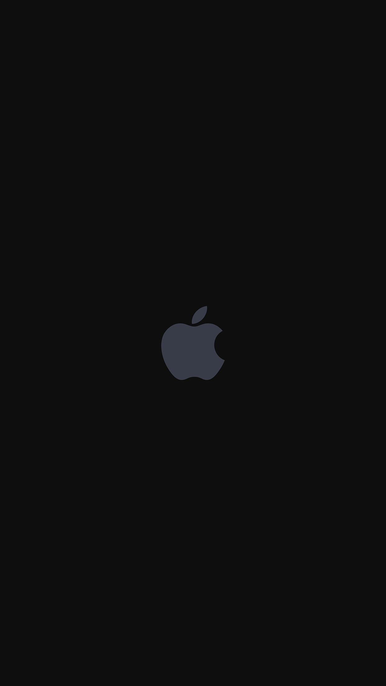 Iphone7 Apple Logo Dark Art Illustration Android Wallpaper