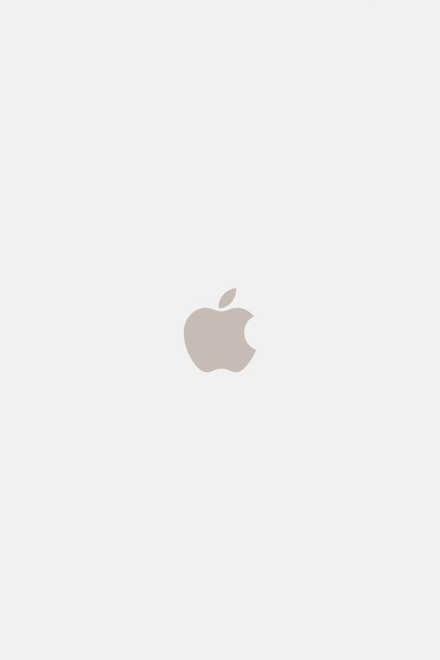 Iphone7 Apple Logo White Gold Art Illustration Android wallpaper