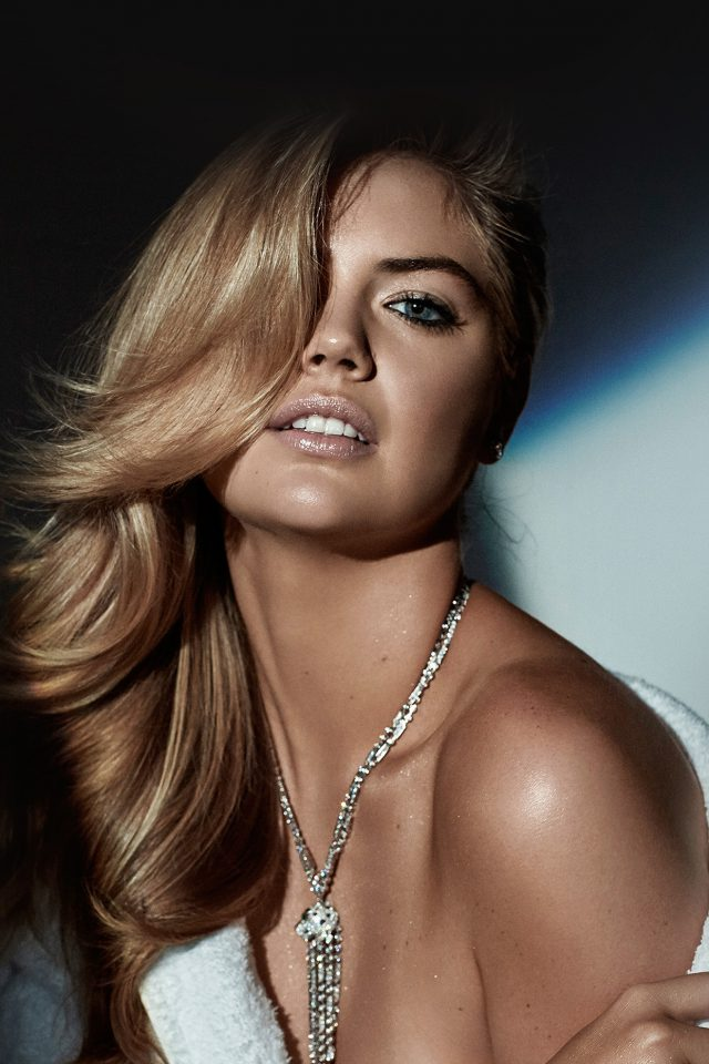 Kate Upton Dark Photoshoot Celebrity Model Android wallpaper