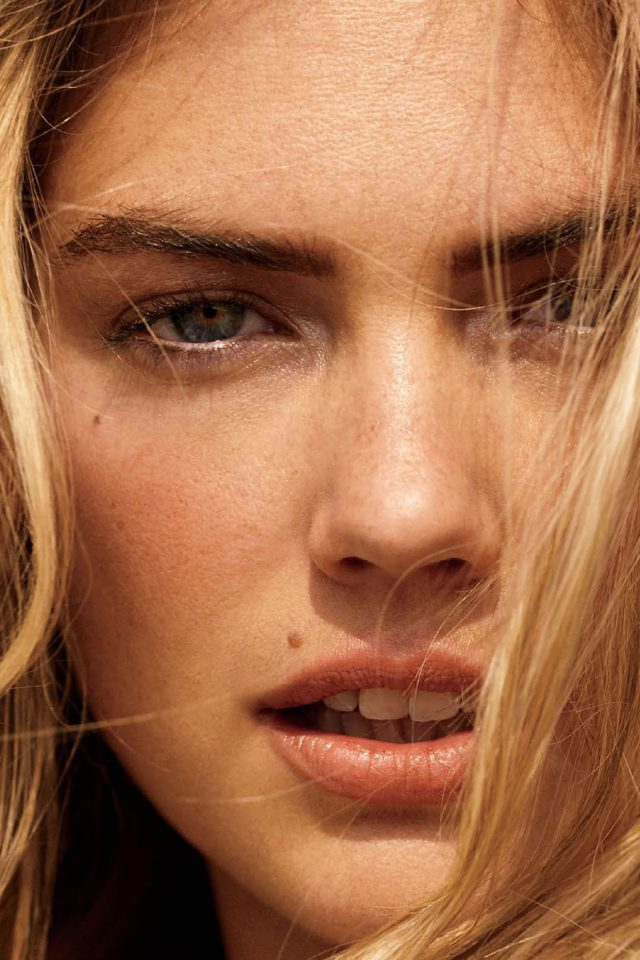 Kate Upton Face Photoshoot Hote Celebrity Model Android wallpaper