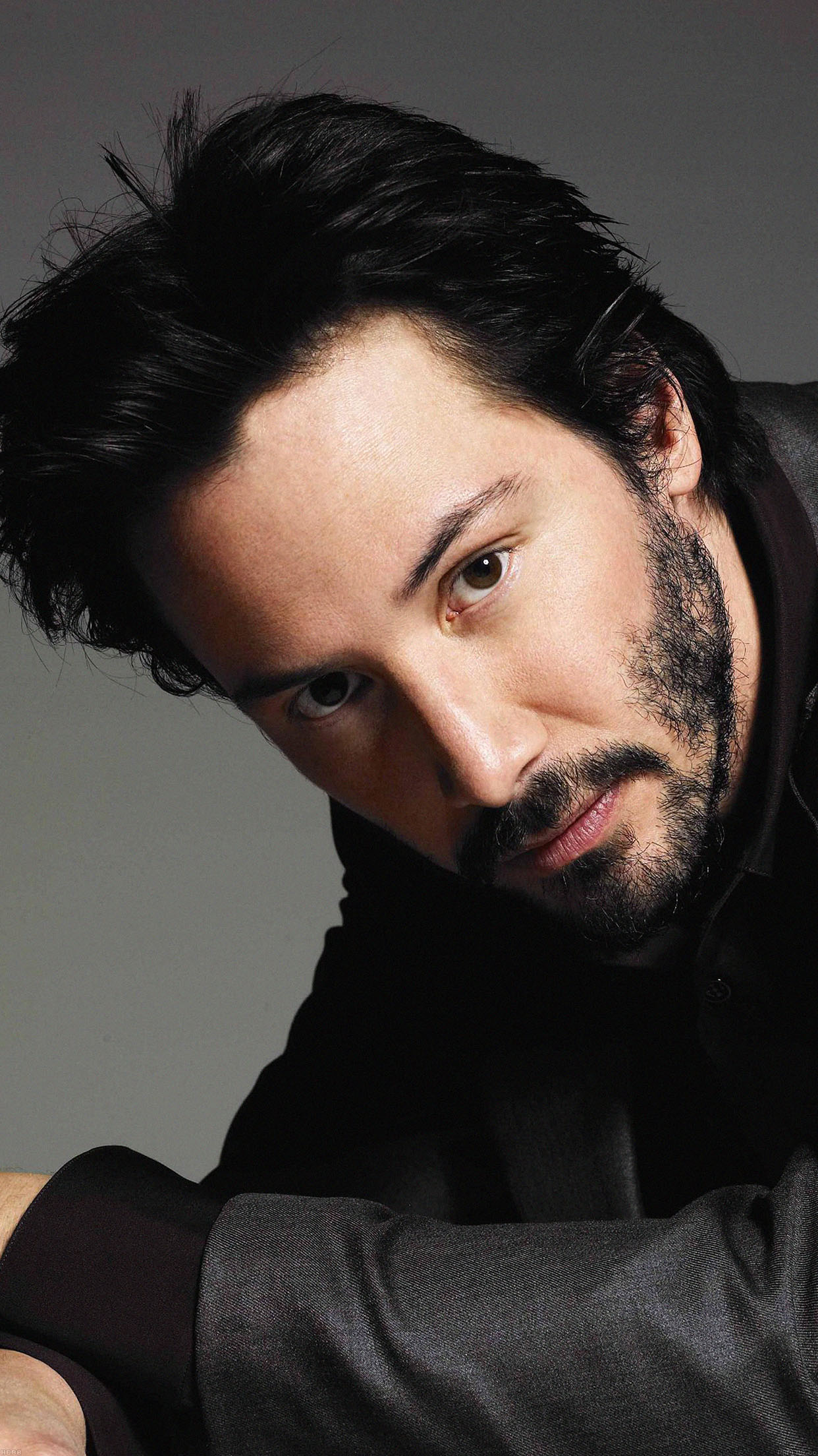 Keanu Reeves Hair Star Android wallpaper