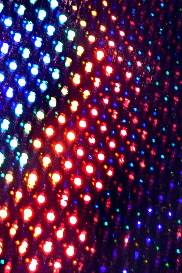 Laser Night Club Pattern Rainbow Android wallpaper