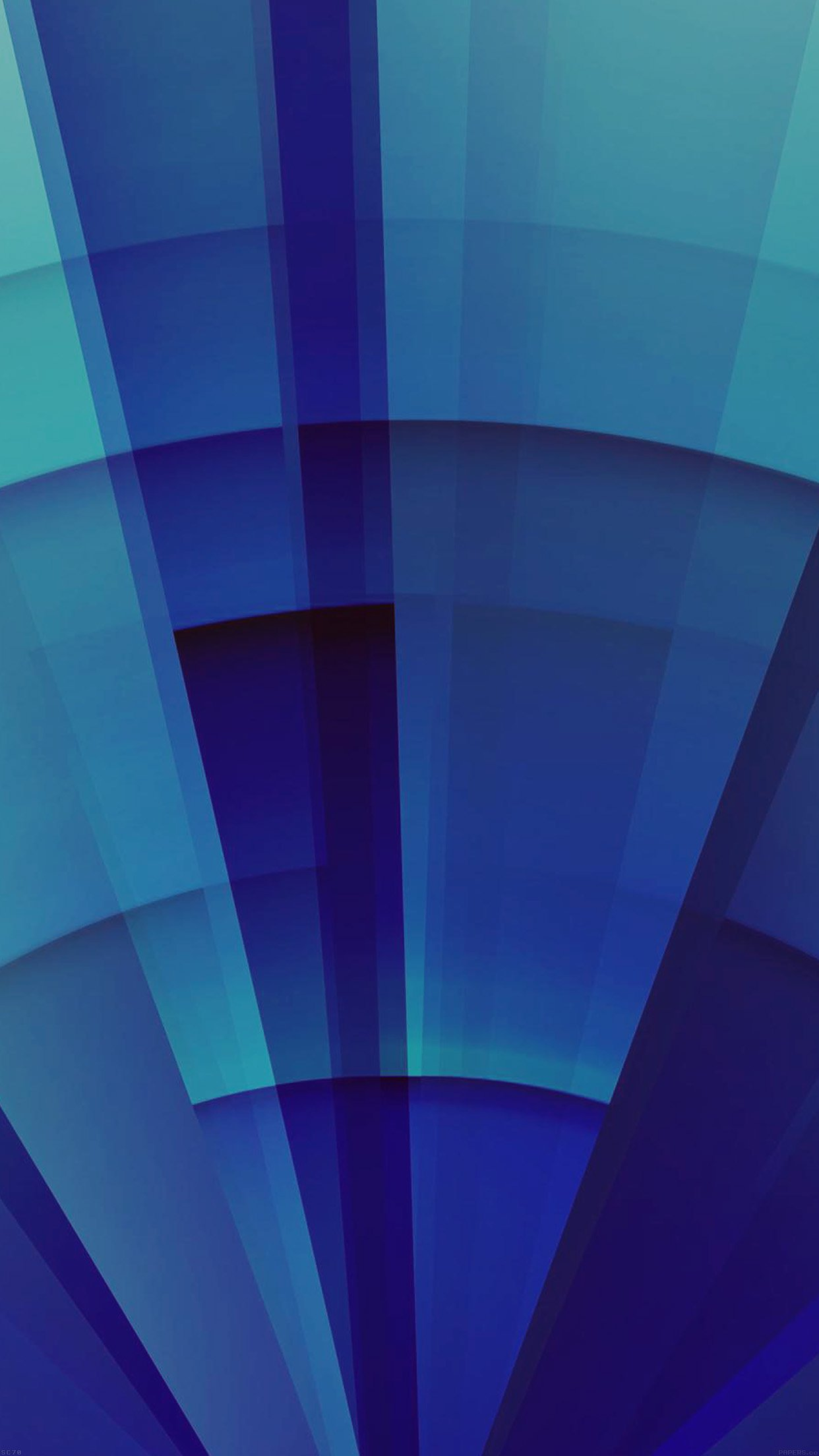 Light Sunshine Blue Pattern Abstract Digital Android wallpaper
