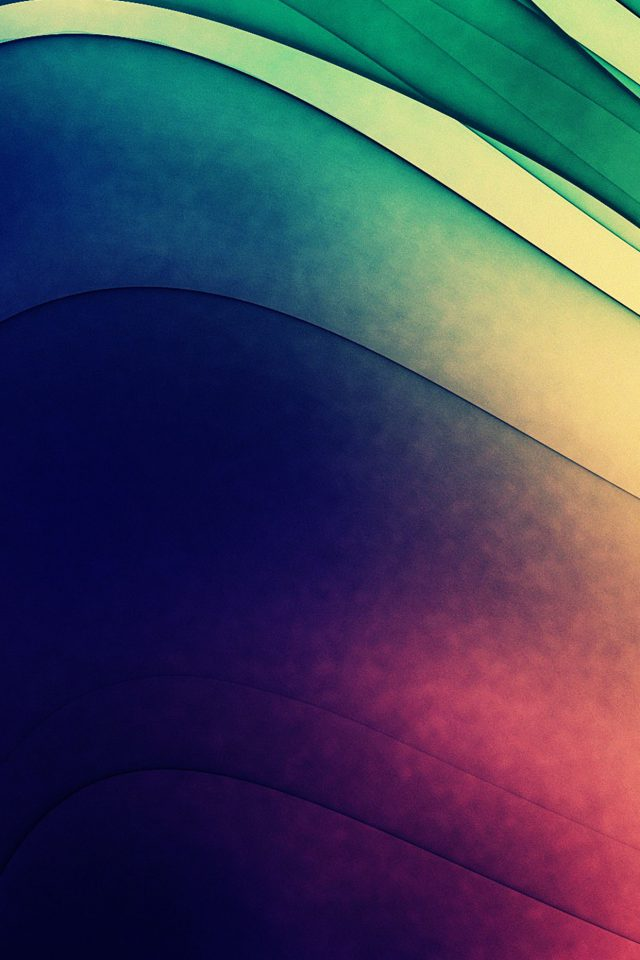 Line Abstract Color Blue Night Art Pattern Android wallpaper