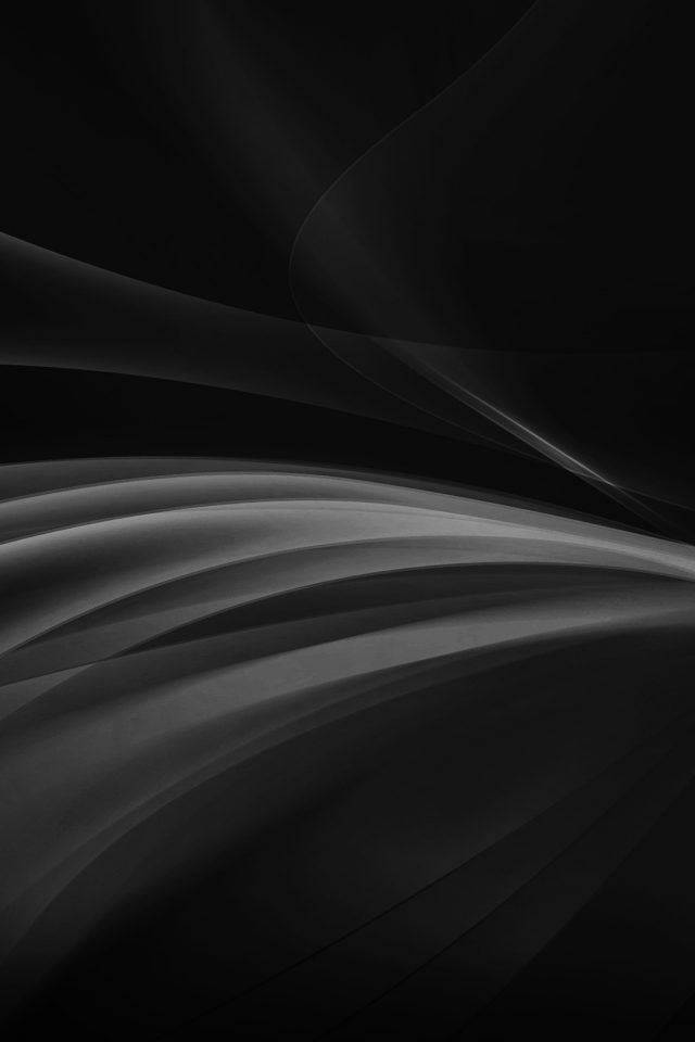 Line Art Abstract Dark Bw Smoke Pattern Android wallpaper
