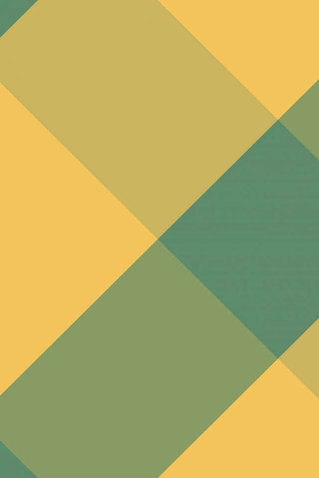 Lines Green Yellow Rectangle Abstract Pattern Android wallpaper