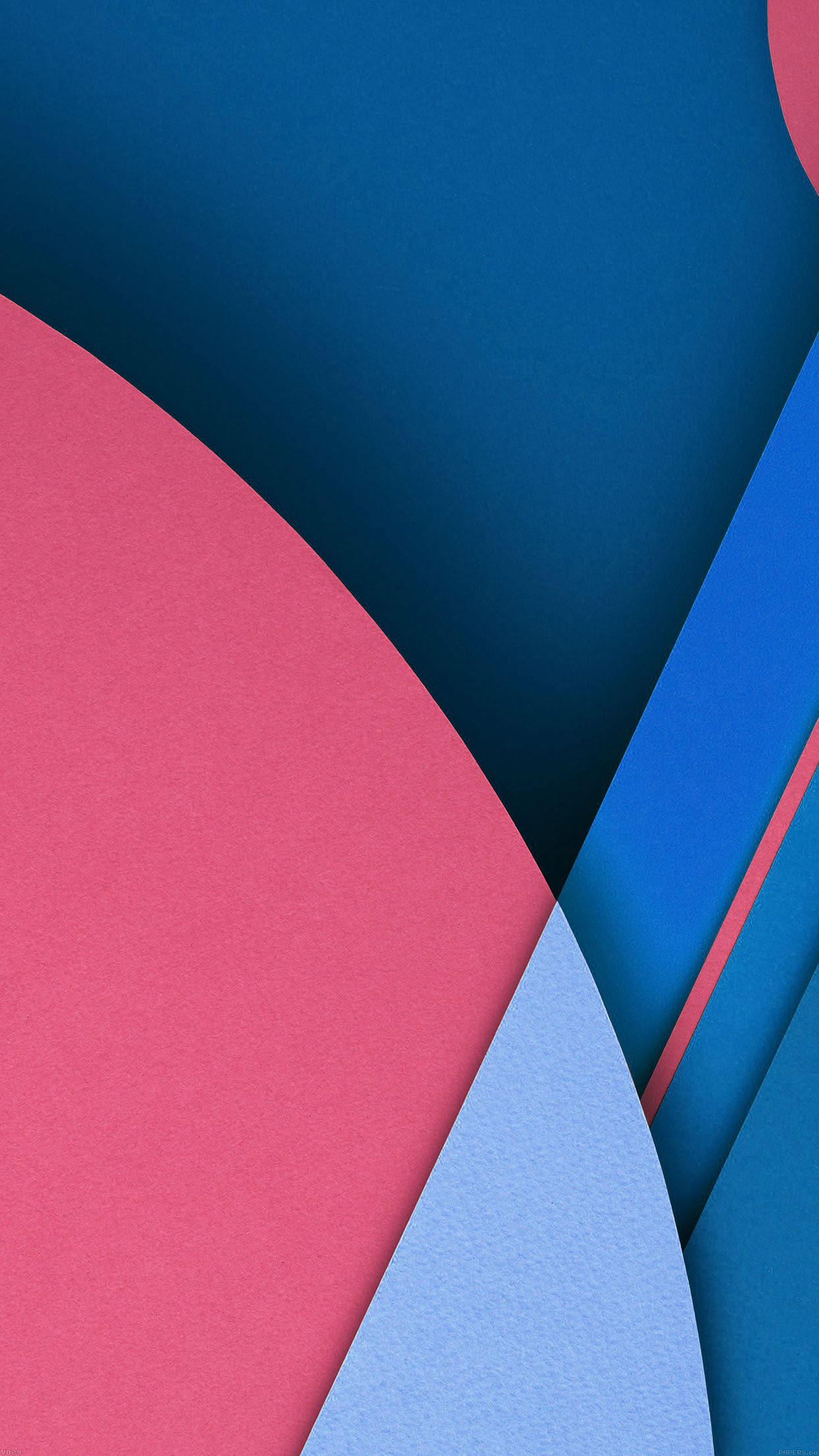 Lollipop Android Blue Official Wallpapers Set Android wallpaper