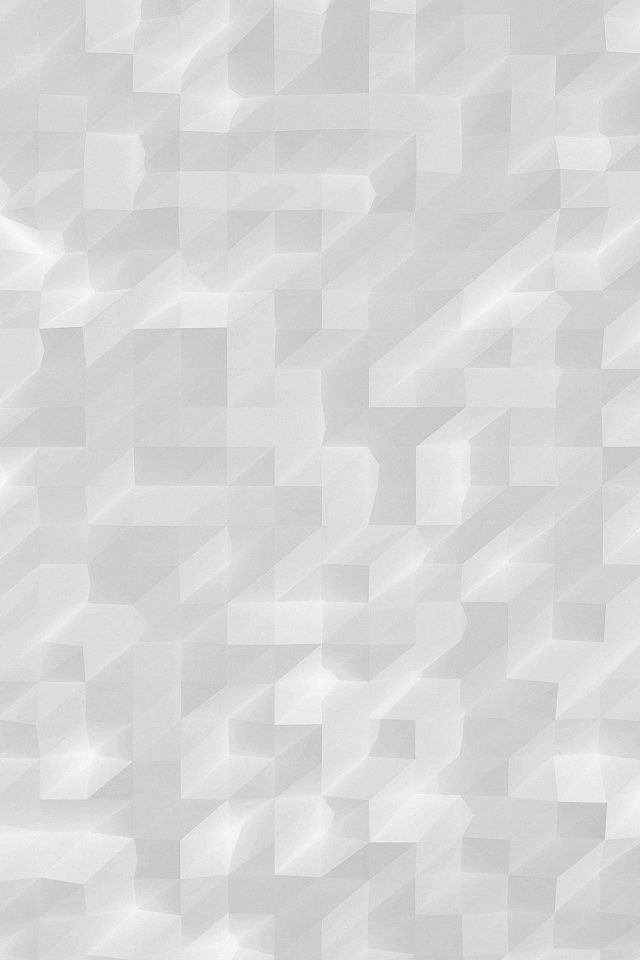 Low Poly White Night Abstract Fun Pattern Android wallpaper