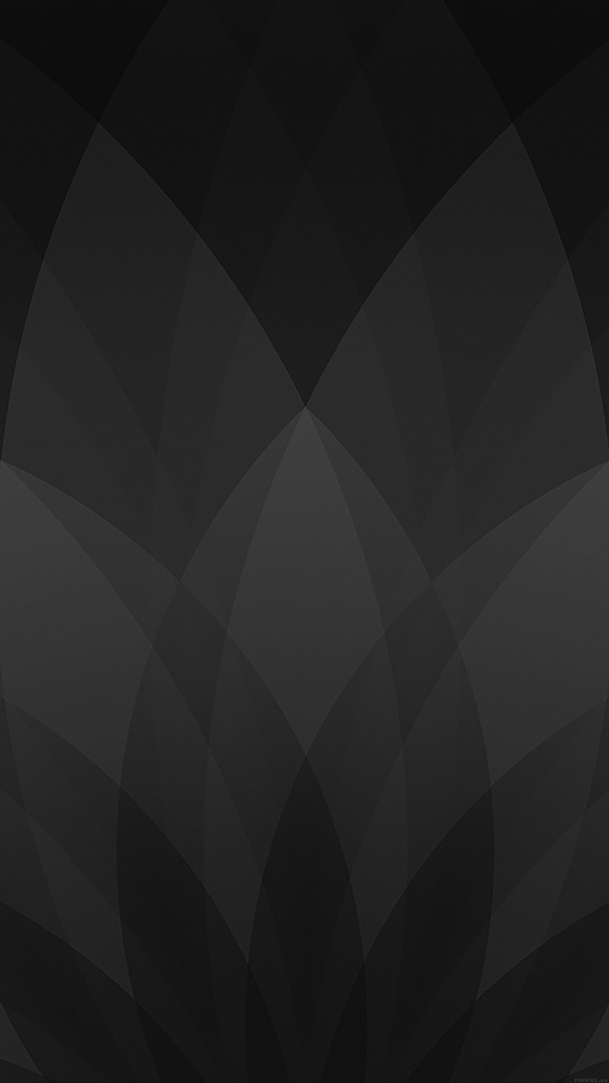 March Apple Event Dark Black Pattern Android wallpaper