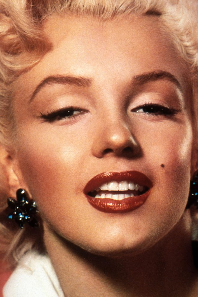 Marilyn Monroe Smiling Celebrity Sexy Android wallpaper