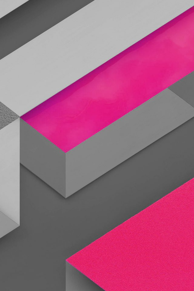 Marshmallow Android Hotpink Triangle Pattern Android wallpaper