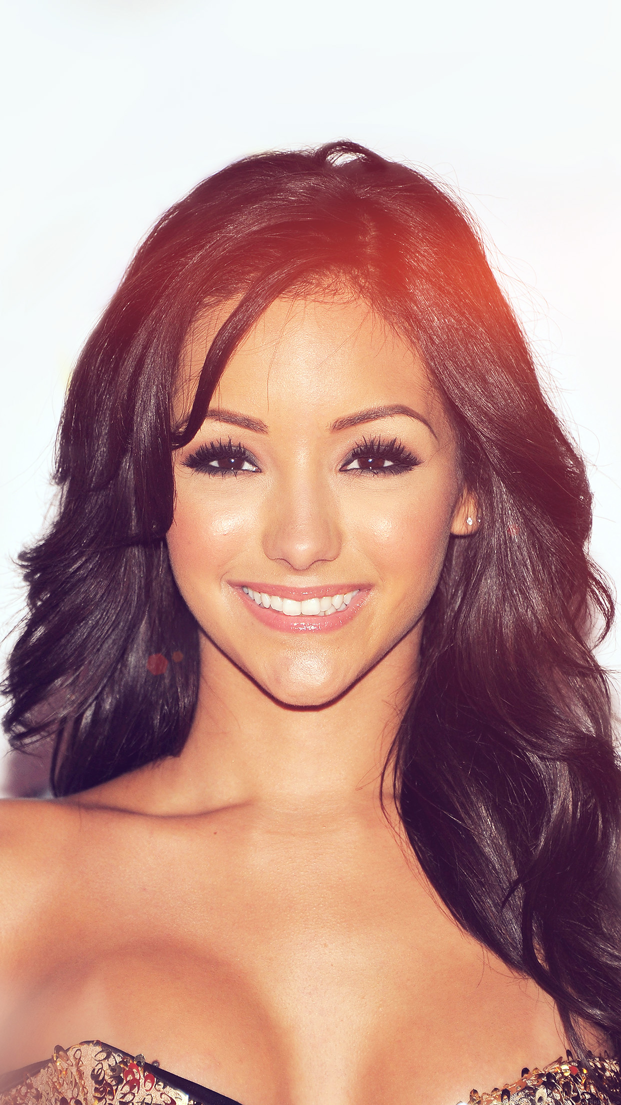 Melanie Iglesias Sexy Face Model Sexy Flare Android wallpaper