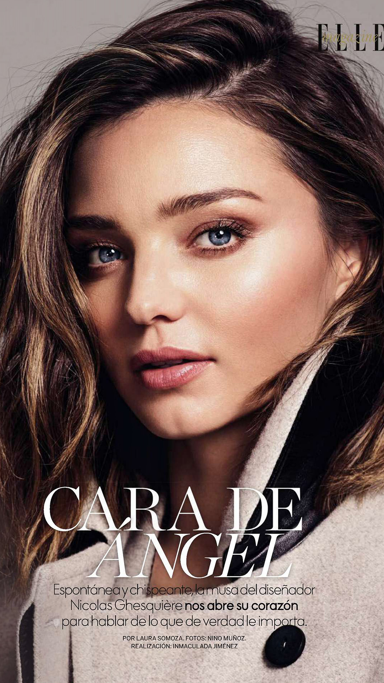 Miranda Kerr Magazine Face Girl Model Android wallpaper