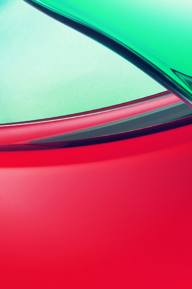 Moto Water Drip Abstract Pattern Red Green Android wallpaper