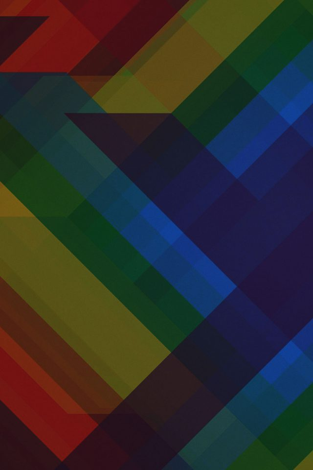 Multicolored Polygons Dark Pattern Art Abstract Android wallpaper