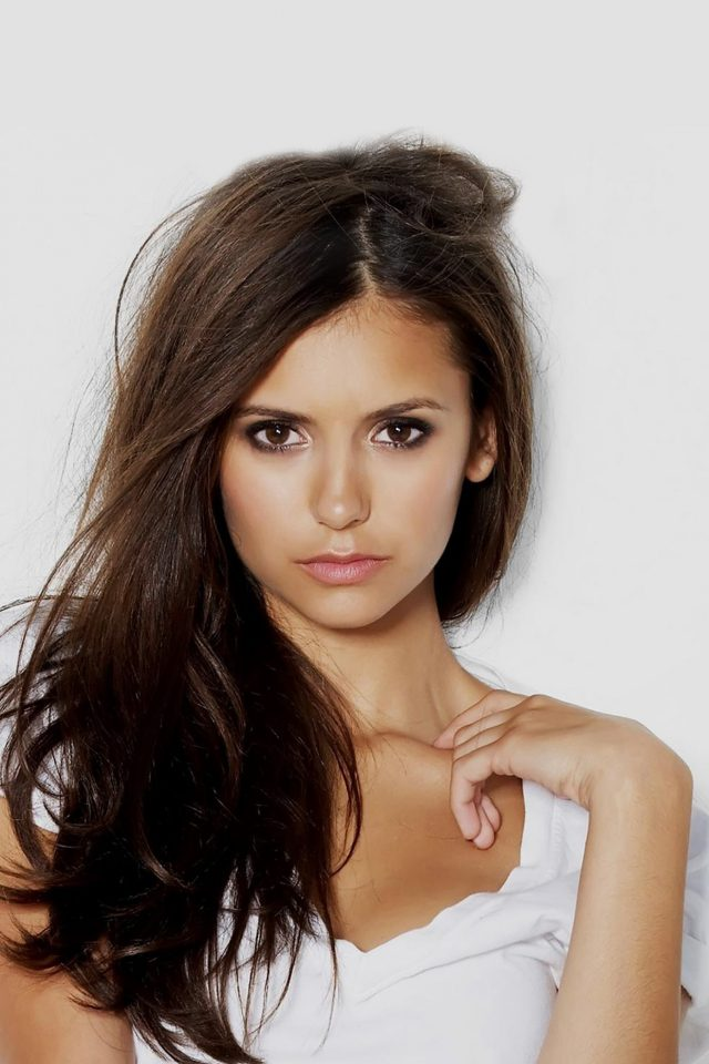 Nina Dobrev Pretty Celebrity Sexy Android wallpaper